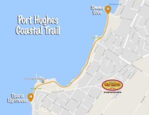 Port Hughes Coastal Trail map